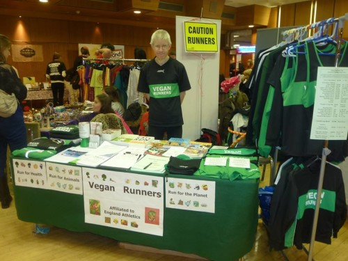 Vegan Runners at Brighton VegFest 27-28th Feb