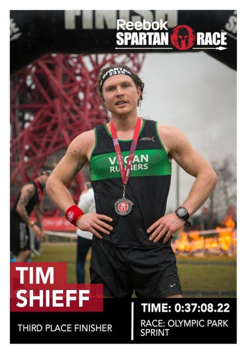Spartan Race – 3rd place for Timothy Shieff