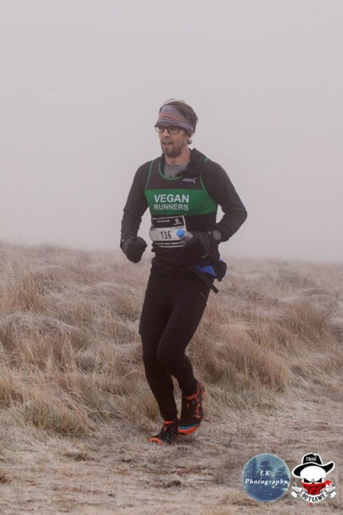 Vegan Runners claim podium place in one of the UK's toughest marathons