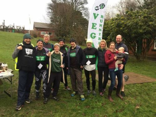 North East members spread vegan magic with Veganuary parkrun takeover