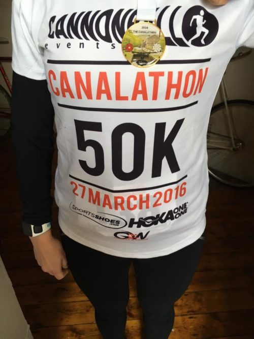 Canalathon 50k 2017 (& 16!) with Britta Werner and Mike Chaloner