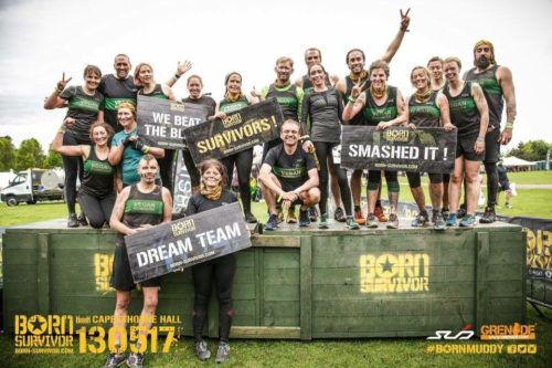 Team Vegan Runners at Born Survivor 13th May