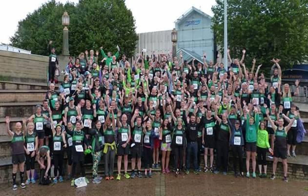 Vegan Runners Big Stockport 10k Takeover