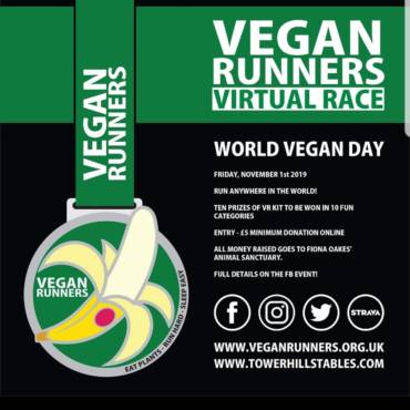 2019 World Vegan Day: VR virtual race