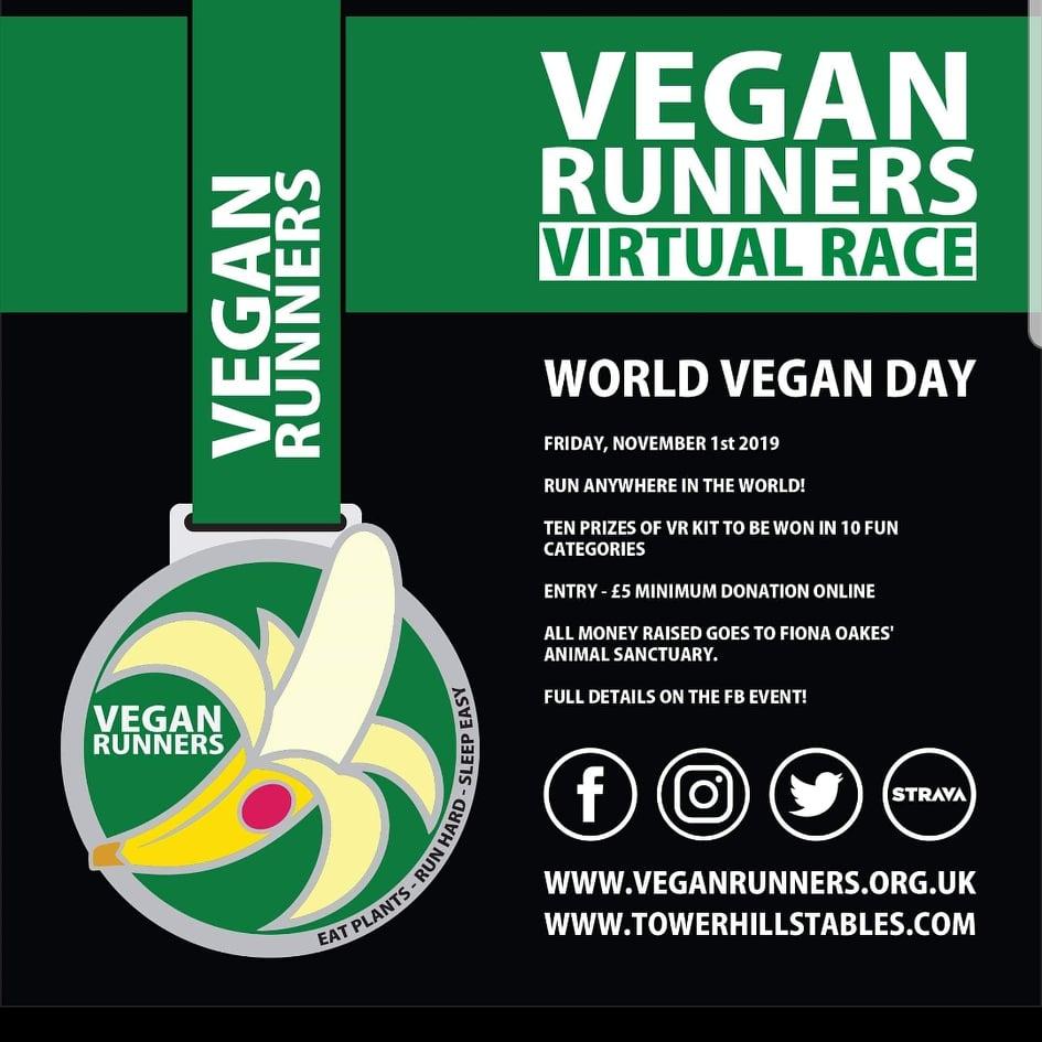 2019 World Vegan Day: VR virtual race